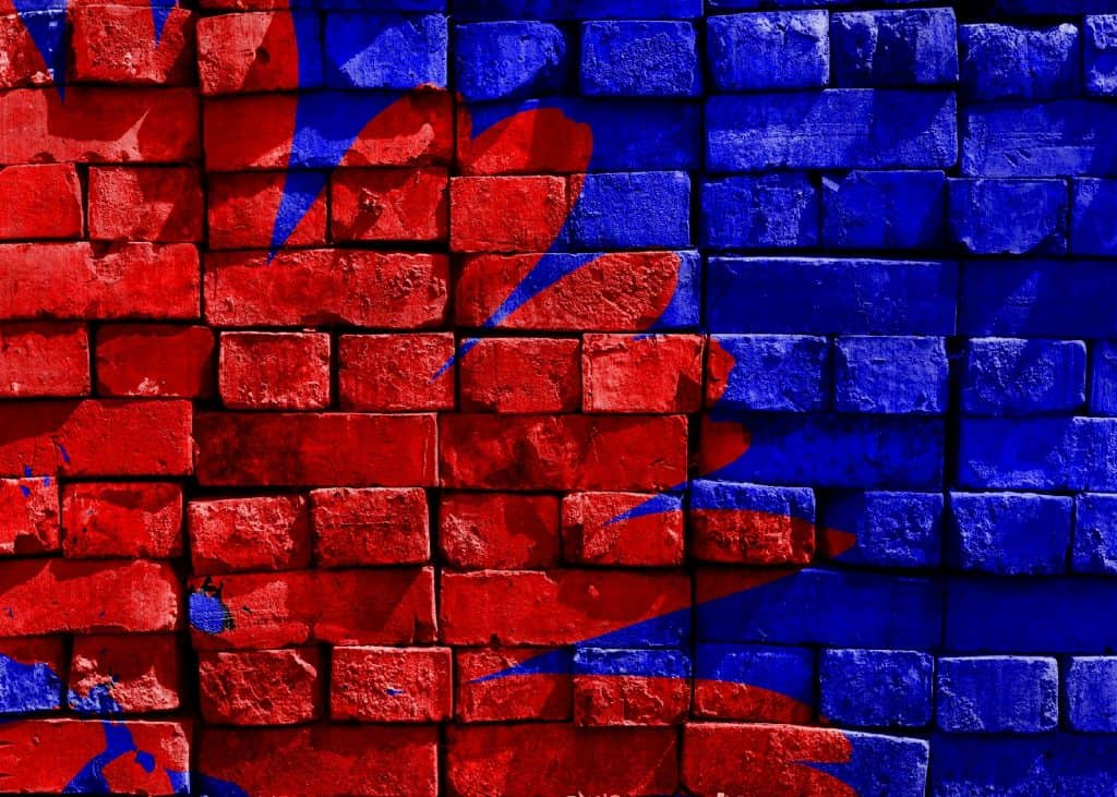 blue-red-painted-brick-68510