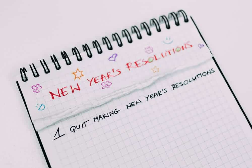 New Years Resolutions Blog Post Image